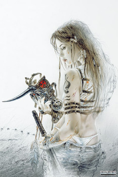 Luis Royo - sketch Poster
