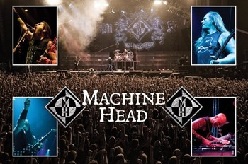 Pôster Machine Head - live
