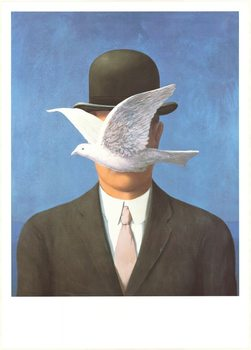 Man in a Bowler Hat, 1964 Art Print