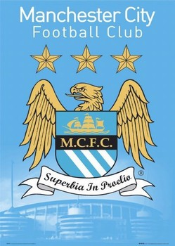Manchester City - club rest Poster