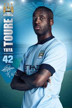 Manchester City FC - Toure 14/15 Poster