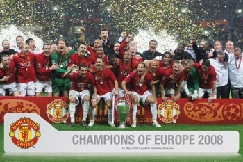 Manchester United - Euro champs 07/08 Poster