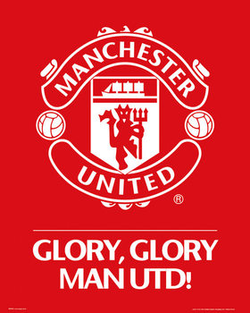 Poster Manchester United FC - Club crest