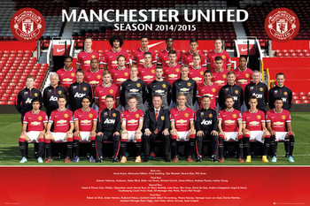 Manchester United FC - Team Photo  Poster