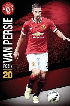 Manchester United FC - Van Persie 14/15 Poster, Art Print