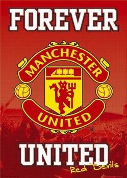 Manchester United - forever Poster