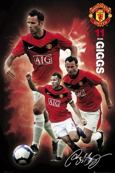 Manchester United - gigs 09/10 Poster