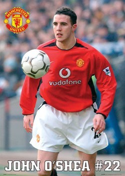 Manchester United - O'Shea 03 Poster