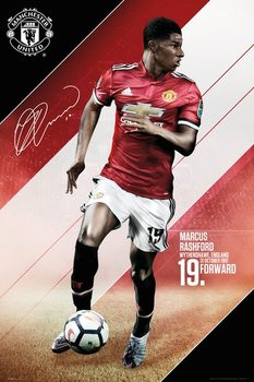Manchester United - Rashford 17-18 Poster