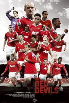 Manchester United - red devils Poster
