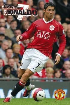 Manchester United - Ronaldo 06 Poster