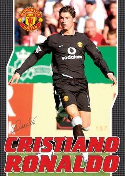 Manchester United - Ronaldo away Poster