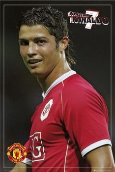 Manchester United - Ronaldo pin up Poster