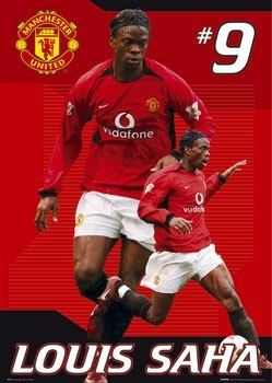 Manchester United - Saha Poster
