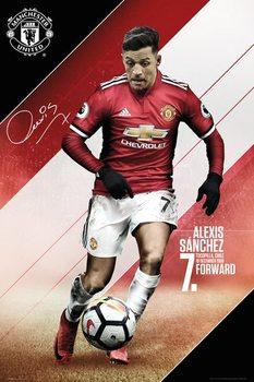 Manchester United - Sanchez 17-18 Poster