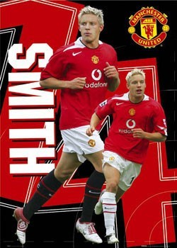 Manchester United - Smith 14 Poster