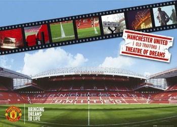 Manchester United - stadium Poster