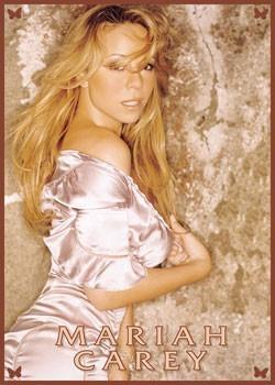 Mariah Carey - Pink Poster