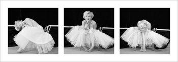 Marilyn Monroe - Ballerina Triptych Art Print