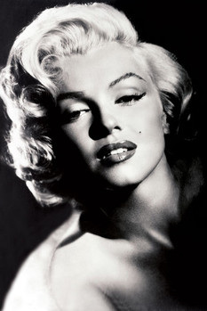 Marilyn Monroe - glamour Poster, Art Print