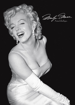 Marilyn Monroe - loved by you Poster