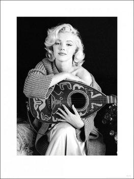 Marilyn Monroe - Lute Art Print
