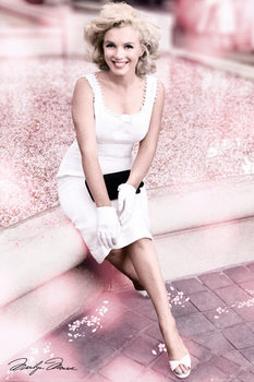 Marilyn Monroe - Plaza Hotel Blossom Poster, Art Print