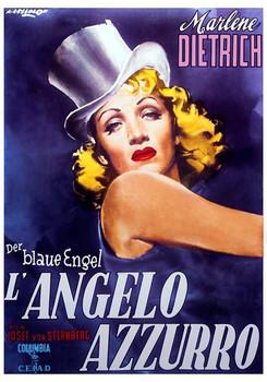 Poster Marlene Dietrich - Der Blaue Engel