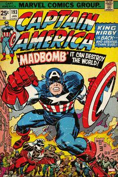 Poster  MARVEL - captain america