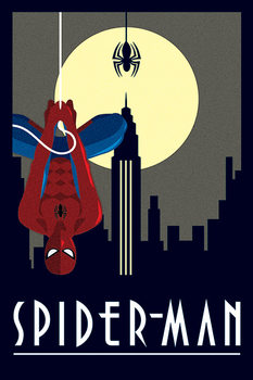 Poster  Marvel Deco - Spider-Man Hanging