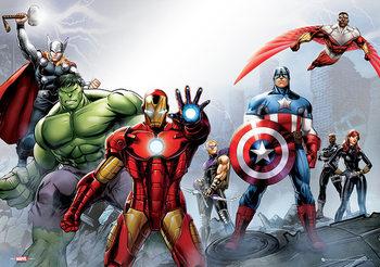Marvel - Group Poster
