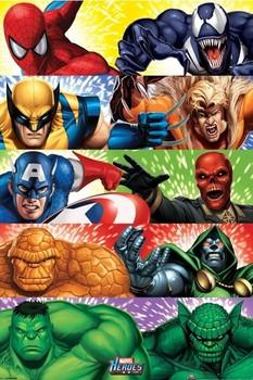 MARVEL HEROES - heroes vs. villains Poster