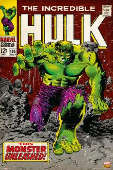 MARVEL - hulk comic Poster