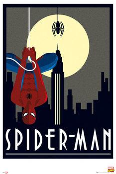 Marvel - Retro Spider-Man Poster