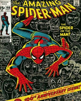 MARVEL - spider-man cover Poster, Art Print
