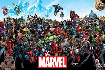 Marvel - Universe Framed Poster