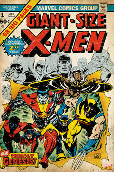 Poster MARVEL - x men 2