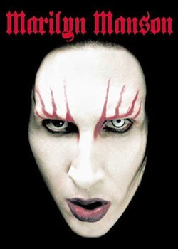 Marylin Manson - face new Poster