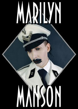 Marylin Manson – officer Poster