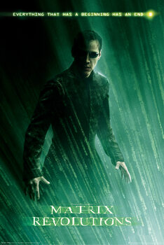 Poster Matrix Revolutions - Neo