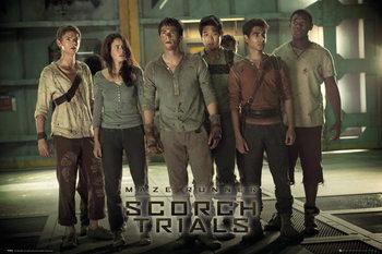 Poster Maze Runner 2 - Group 2