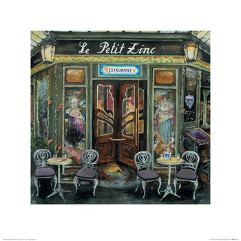 Melissa Sturgeon - Le Petit Zinc Art Print