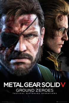 Metal Gear Solid V: The Phantom Pain - Ground Zeroes Game Cover Poster
