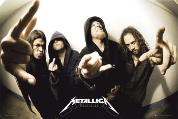 Poster Metallica - fisheye