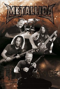 Poster Metallica - group