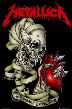 Poster Metallica - heart
