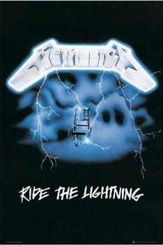 Poster Metallica - ride the lightening