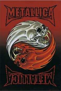 Poster Metallica - yin yang