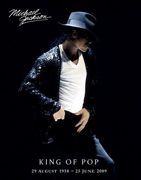 Michael Jackson - king of pop Poster
