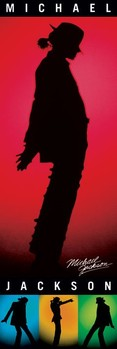 Michael Jackson - silhouettes Poster